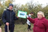 Виниченко Алексей с классным руководителем Сагдеевой Любовь Сергеевной